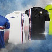 Camisetas de la Sampdoria | Imagen Joma