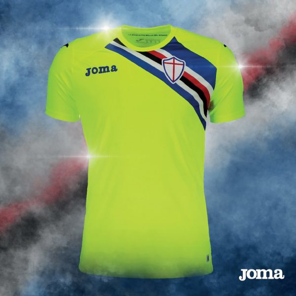 Camiseta de arquero de la Sampdoria | Imagen Joma