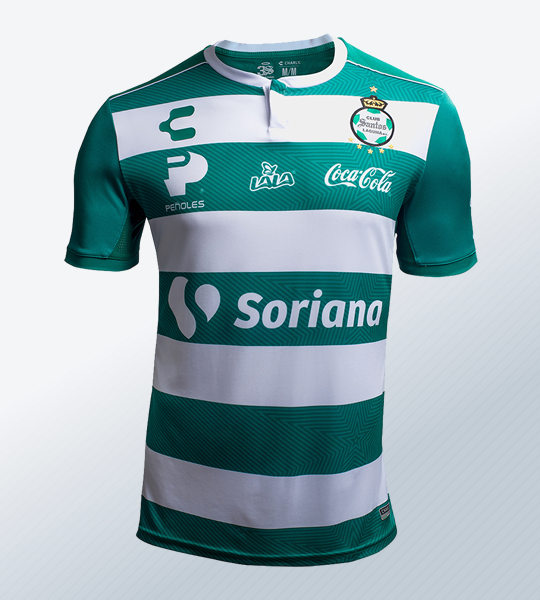 Camiseta titular 2018/19 del Santos Laguna | Imagen Web Oficial