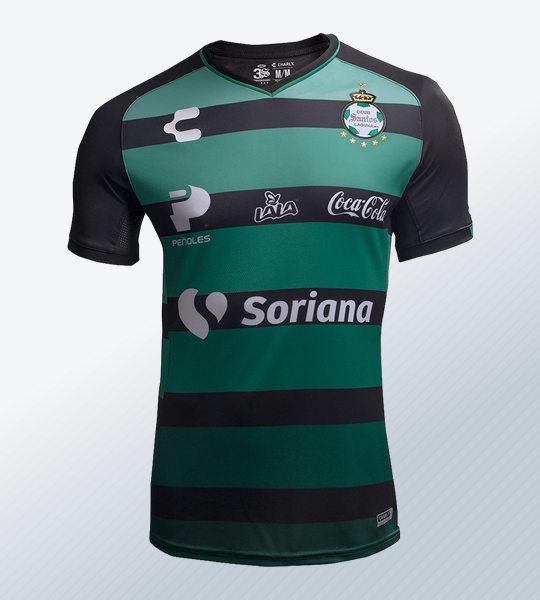 Camiseta visita 2018/19 del Santos Laguna | Imagen Web Oficial