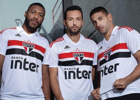 Camiseta titular del São Paulo | Imagen Adidas