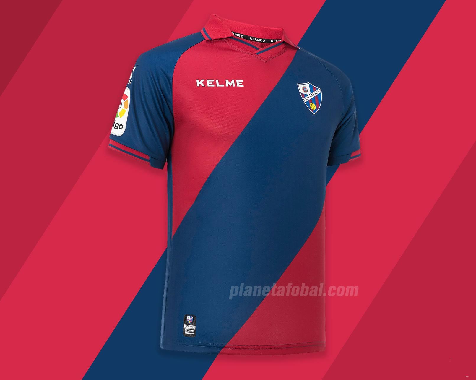 Primera equipación Kelme del SD Huesca 2018/19 | Imagen Twitter Oficial