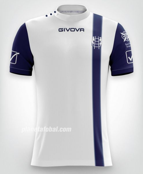 Camiseta suplente Givova del Chievo Verona | Imagen Web Oficial