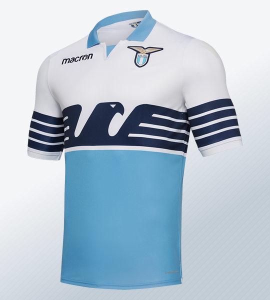 Camiseta titular 2018/19 de la SS Lazio | Imagen Macron