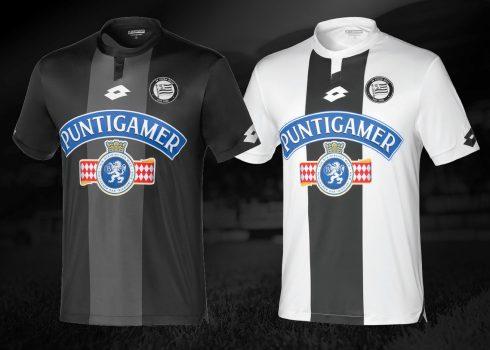 Camisetas Lotto del Sturm Graz 2018/19 | Imagen Web Oficial