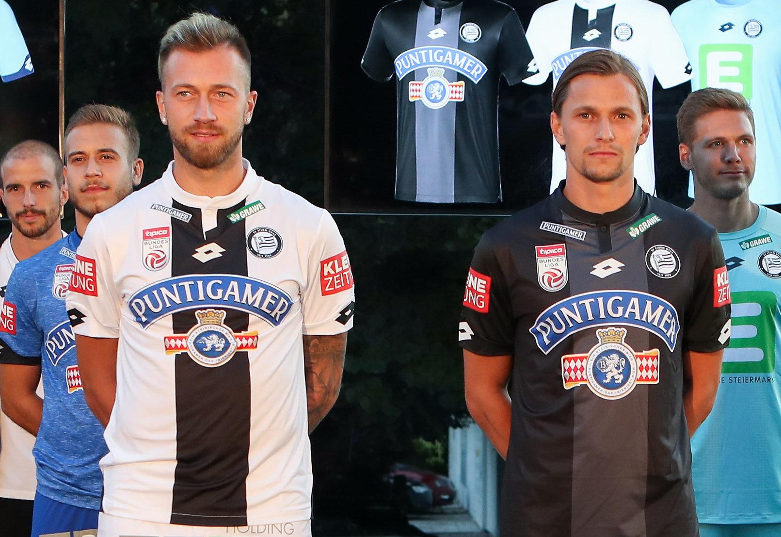 Camisetas Lotto del Sturm Graz 2018/19   Imagen Web Oficial