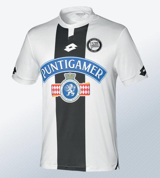 Camiseta suplente Lotto del Sturm Graz 2018/19   Imagen Web Oficial