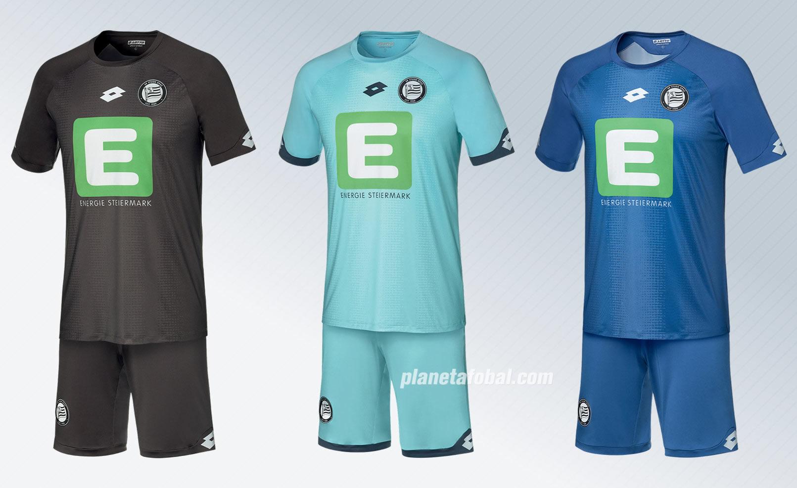Camisetas de arquero Lotto del Sturm Graz 2018/19 | Imagen Web Oficial