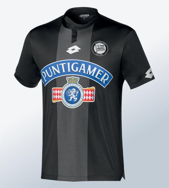 Camiseta titular Lotto del Sturm Graz 2018/19 | Imagen Web Oficial