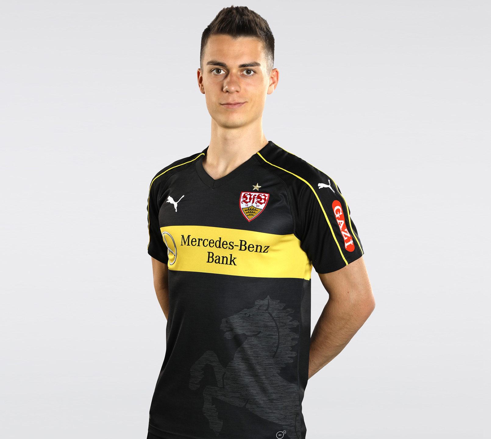 Tercera camiseta Puma del VfB Stuttgart | Foto web oficial