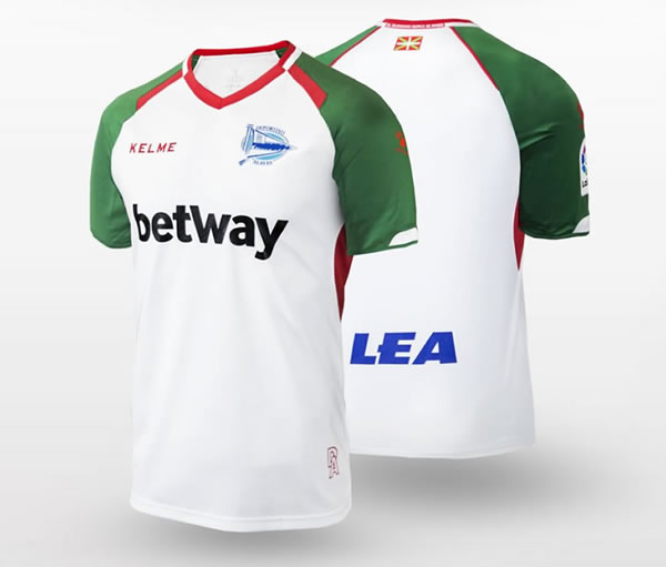 Tercera camiseta Kelme del Deportivo Alavés | Imagen Web Oficial