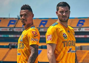 Camiseta titular de los Tigres de la UANL | Imagen Twitter Oficial