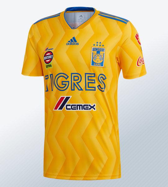 Camiseta titular de los Tigres de la UANL | Imagen Adidas