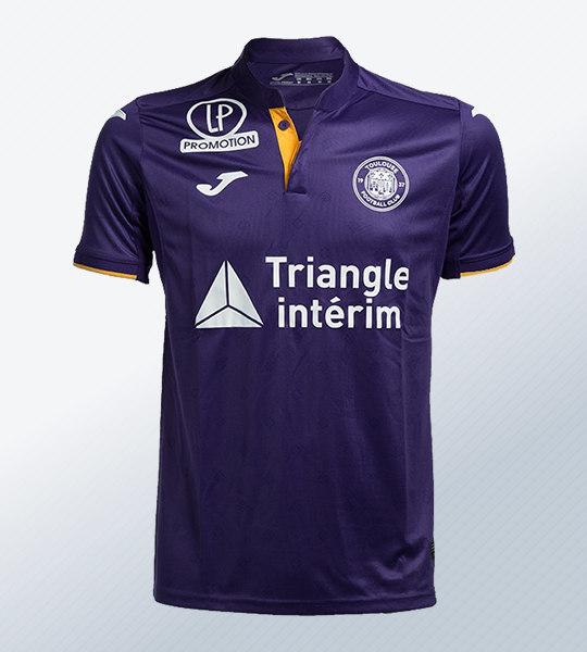 Camiseta titular Joma del Toulouse FC | Imagen Web Oficial