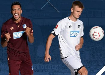 Camisetas alternativas Lotto del Hoffenheim | Imagen Web Oficial