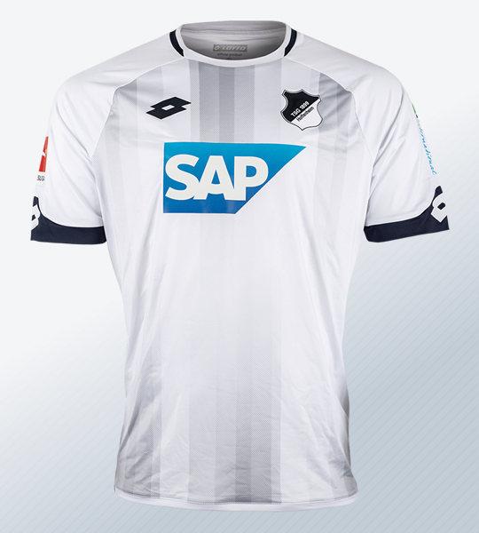 Camiseta suplente Lotto del Hoffenheim | Imagen Web Oficial
