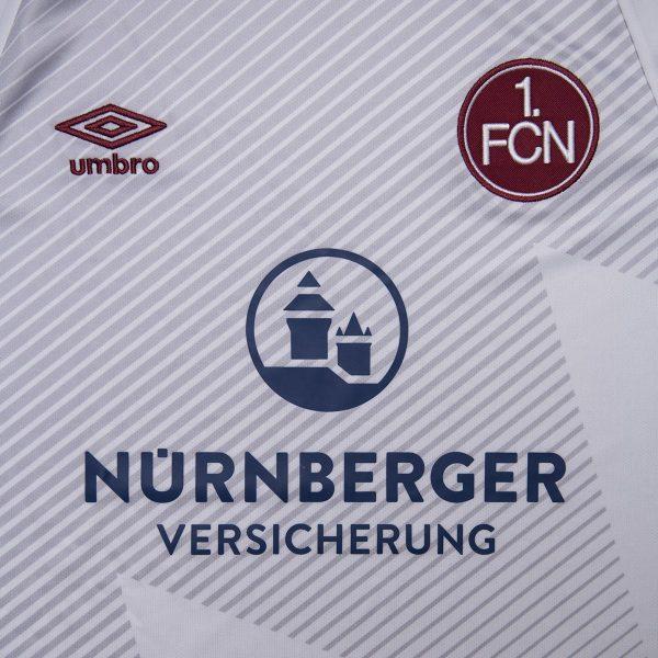 Camiseta suplente Umbro del 1. FC Nürnberg | Imagen Web Oficial