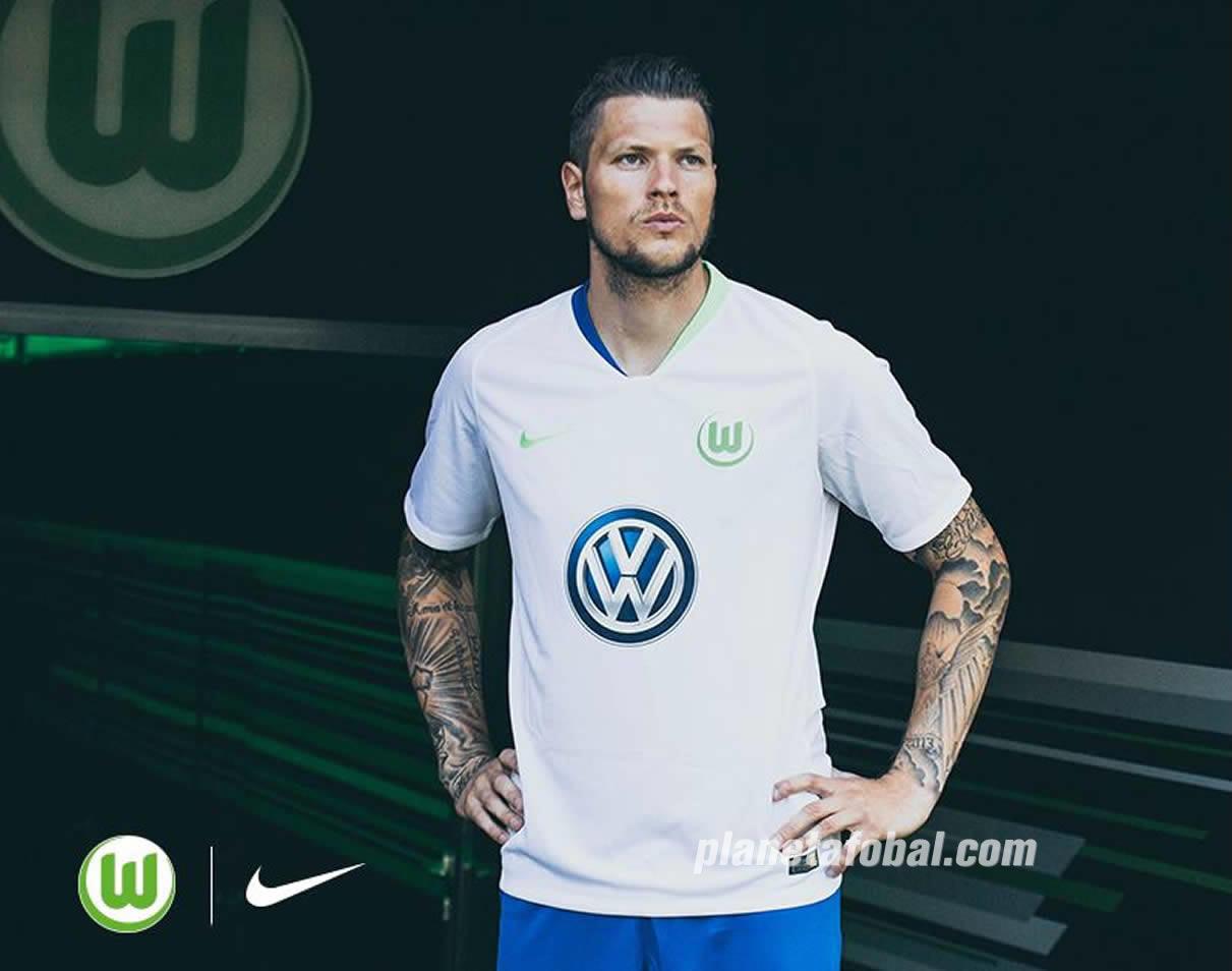 Camiseta suplente 2018/19 del VfL Wolfsburg 2018/2019 | Imagen Web Oficial