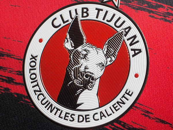 Camiseta local de los Xolos de Tijuana | Imagen Charly
