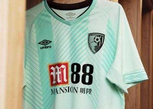 Tercera camiseta Umbro del Bournemouth 2018/2019 | Imagen Web Oficial
