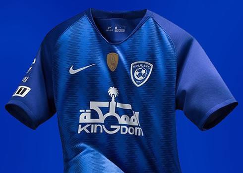 Camiseta titular Nike 2018/19 del Al-Hilal Saudi Club | Imagen Twitter Oficial