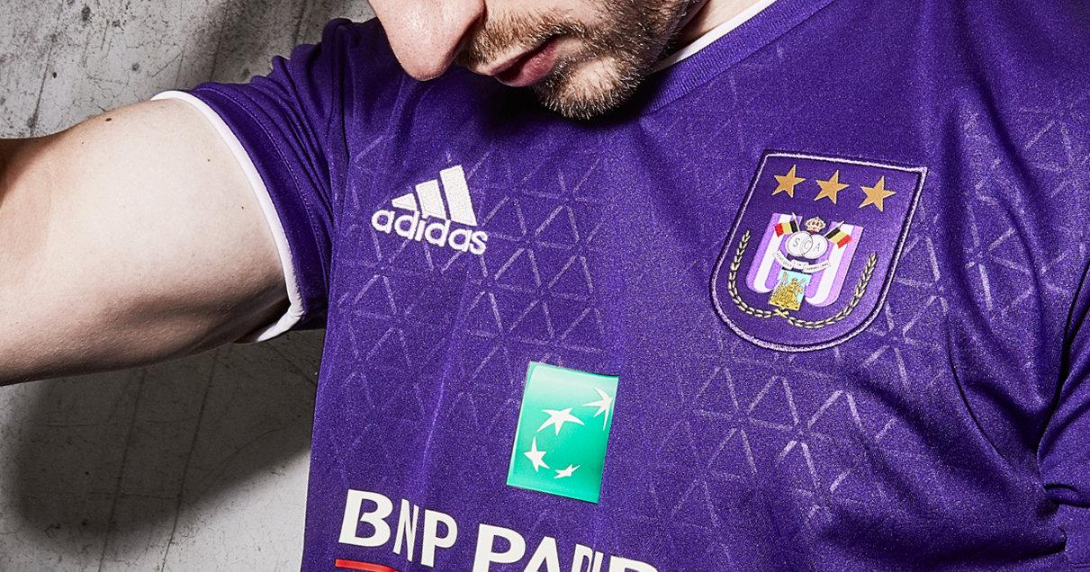 Camiseta titular Adidas del Anderlecht | Imagen Web Oficial