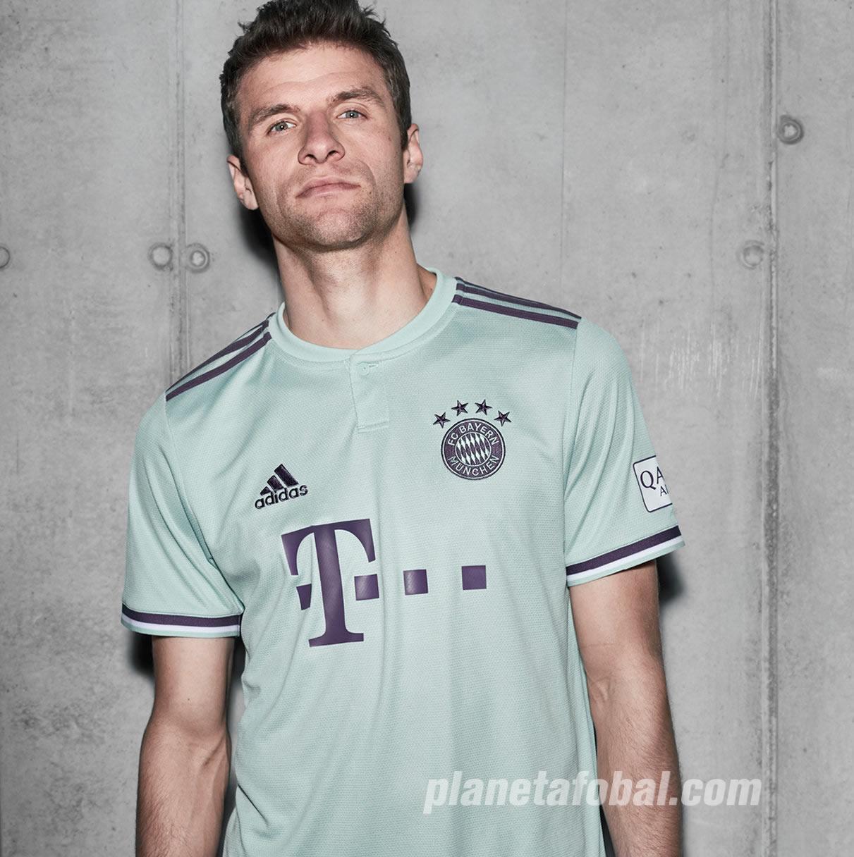 Camiseta Suplente Adidas Del Bayern Munich 2018 2019