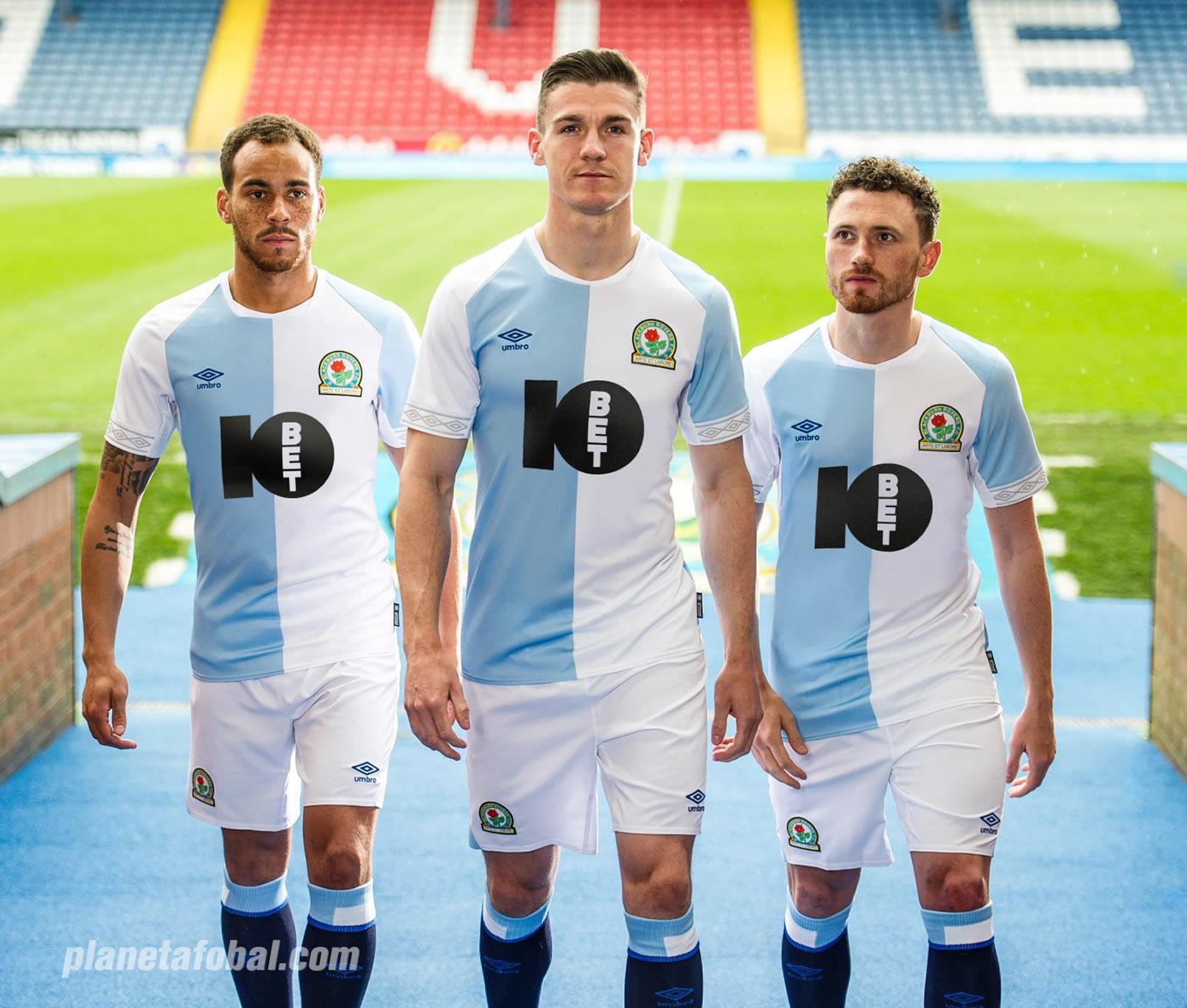 Camiseta titular Umbro del Blackburn Rovers 2018/19 | Imagen Web Oficial