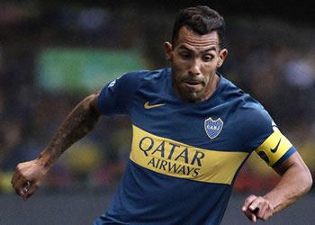 Carlos Tevez con la camiseta titular de Boca Juniors 2018/19 | Imagen Nike