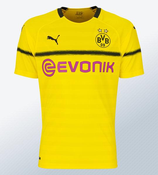 Camiseta Puma para las copas 2018/19 del BVB | Imagen Web Oficial