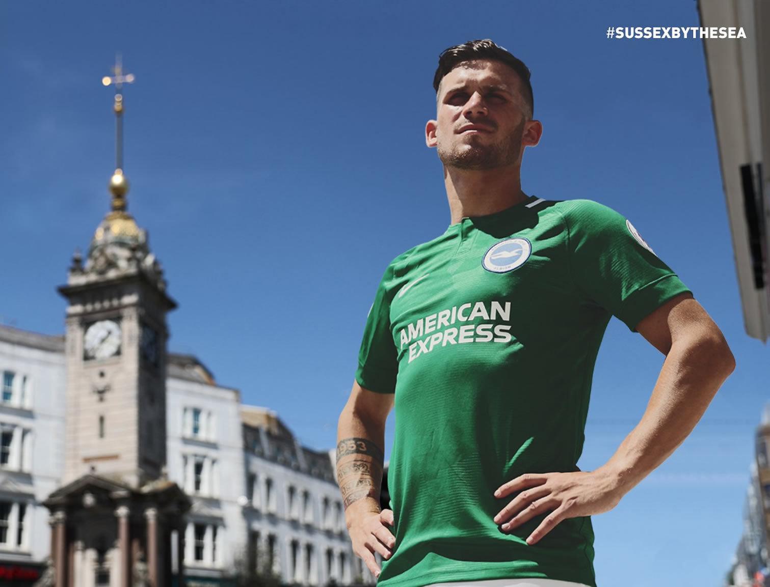 Camiseta suplente Nike del Brighton & Hove Albion 2018/19 | Imagen Web Oficial