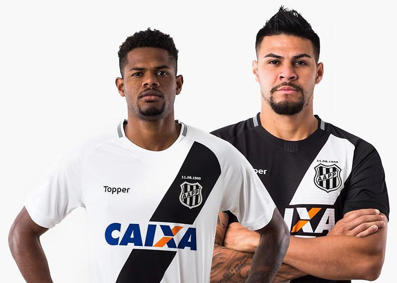 Camisetas del Ponte Preta 2018/19 | Imagen Topper