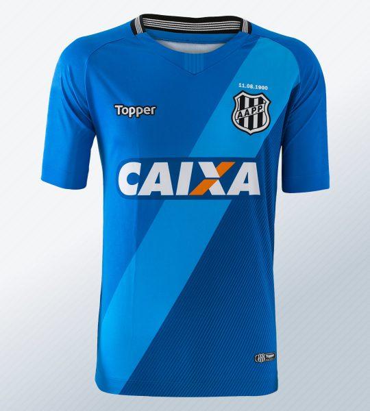 Camiseta de arquero del Ponte Preta 2018/19 | Imagen Topper
