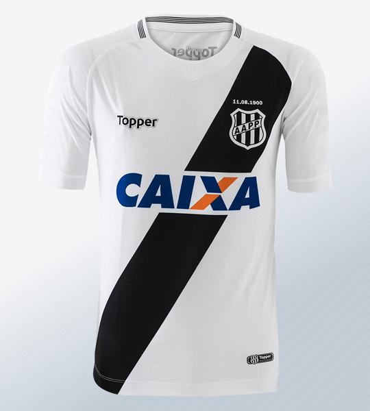 Camiseta titular del Ponte Preta 2018/19 | Imagen Topper