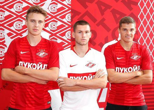 Kits completos del Spartak Moscú   Imagen Twitter Oficial