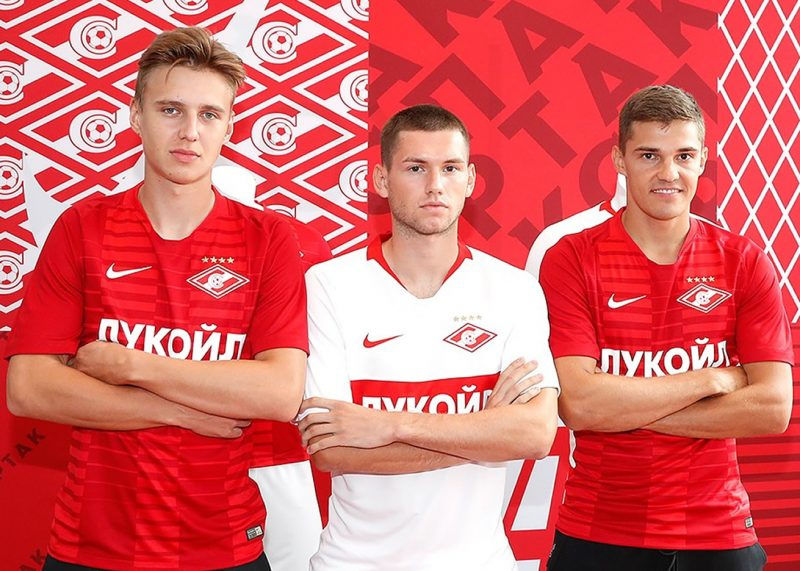 Kits completos del Spartak Moscú | Imagen Twitter Oficial