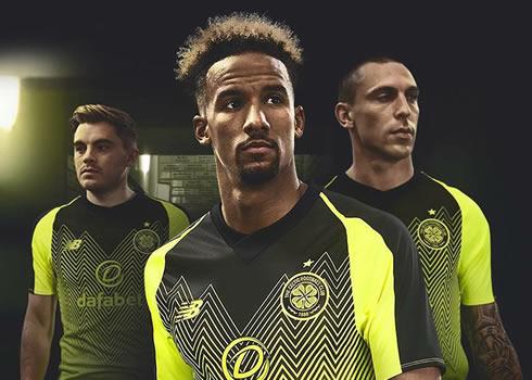 Tercera camiseta New Balance del Celtic   Imagen Web Oficial