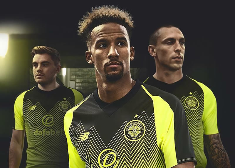 Tercera camiseta New Balance del Celtic | Imagen Web Oficial