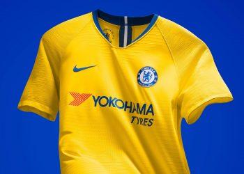 Camiseta suplente amarilla del Chelsea | Imagen Nike