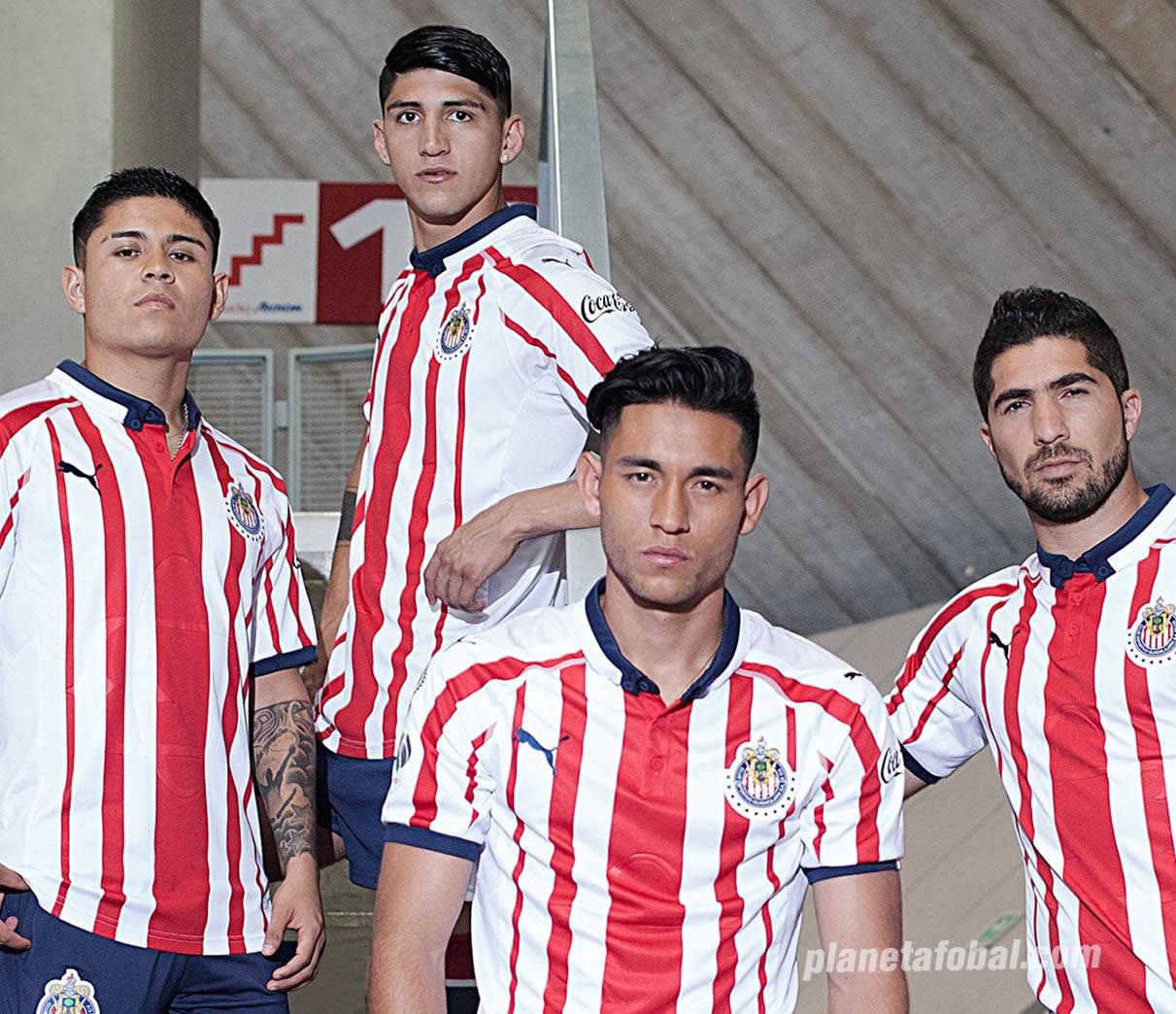 Camiseta titular de las Chivas de Guadalajara 2018/19 | Imagen Puma
