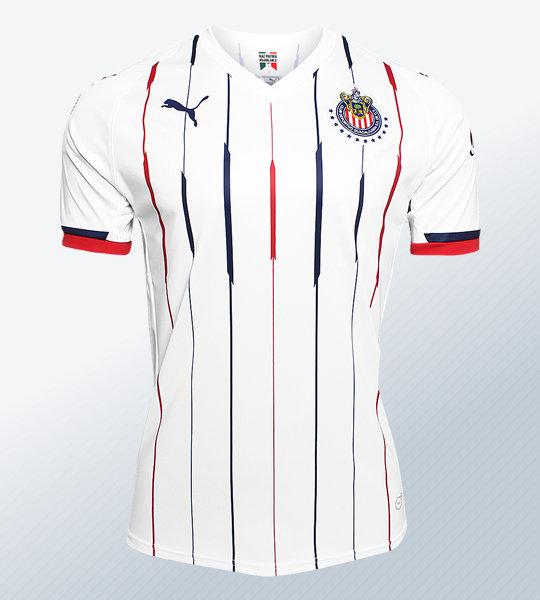 Camiseta visitante de las Chivas de Guadalajara 2018/19 | Imagen Web Oficial