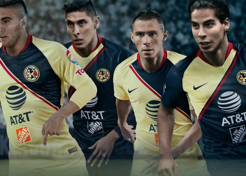 Camisetas del Club América de México 2018/19 | Imagen Nike