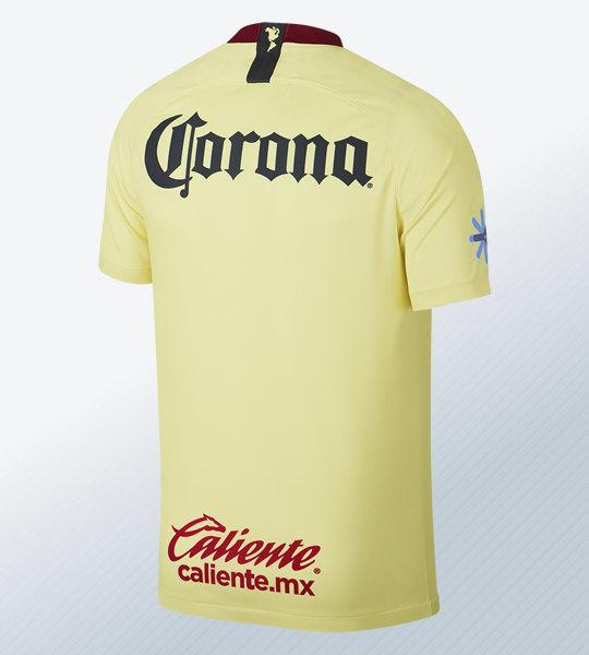 Camiseta titular del Club América de México 2018/19 | Imagen Nike