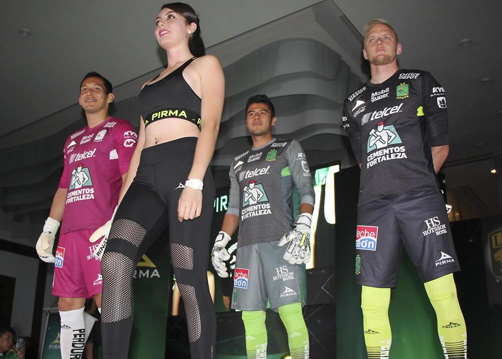 Camisetas de arqueros Pirma del Club León 2018/19 | Imagen Twitter Oficial