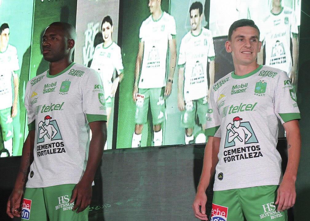 Camiseta suplente Pirma del Club León 2018/19 | Imagen Twitter Oficial