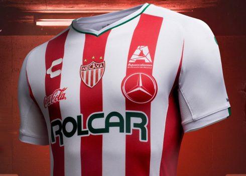 Camiseta titular del Club Necaxa 2018/19 | Imagen Charly