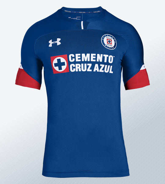 Camiseta local del Cruz Azul 2018 | Imagen Under Armour