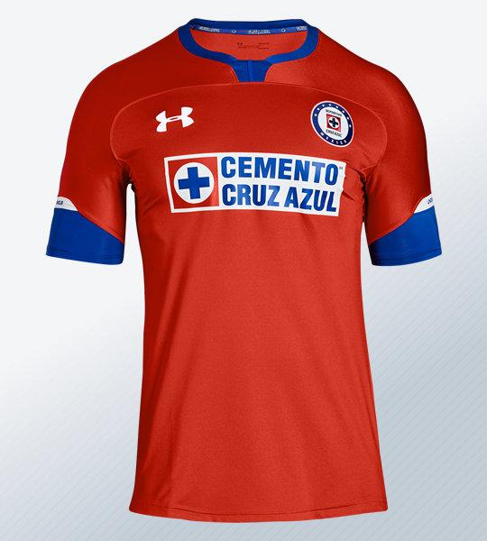 Tercera camiseta del Cruz Azul 2018 | Imagen Under Armour