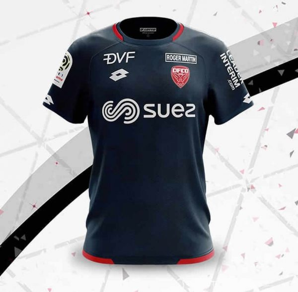 Camiseta suplente Lotto del Dijon FCO | Imagen Web Oficial