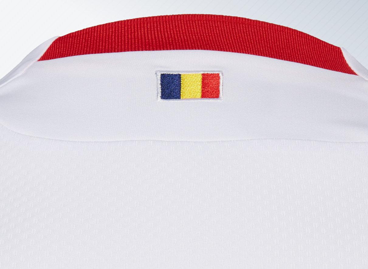 Camiseta suplente 2018/19 del Dinamo de Bucarest | Imagen Macron